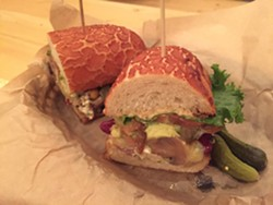 Roxy's Veggie Sandwich - SCOTT CARROLL