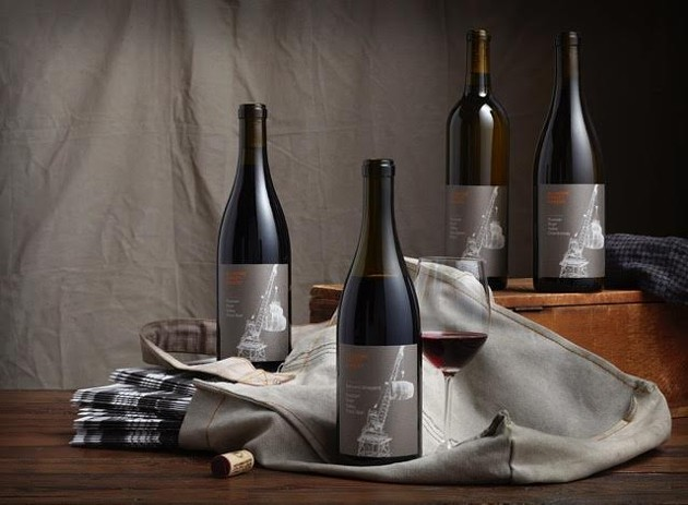 A few of Bluxome's vintages. - BLUXOME STREET WINERY