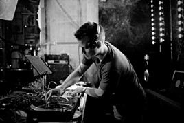 Pearson Sound performs an extended open-to-close set at F8 Friday, Sept. 25. - SIMA KORENIVSKI
