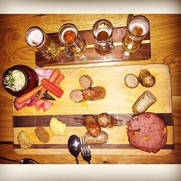 A Traditional Oktoberfest Spread - SCHROEDER'S