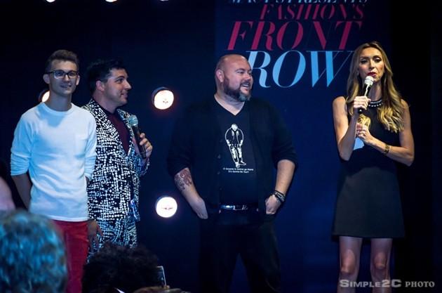 Blake Patterson, Jake Wall, Joseph Chatles Poli and Giuliana Rancic talk fashion - SIMPLE2C PHOTO