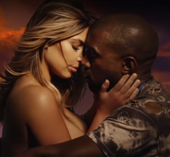"Our future President and First Lady enjoying a nice motorcycle ride at sunset. - KANYE WEST, ""BOUND 2"""