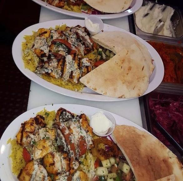 A Pita and Schwarma Feast at Pita Hub - FACEBOOK/ PITA HUB