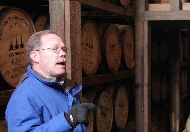 Woodford Reserve Master Distiller Chris Morris - KEVIN REID