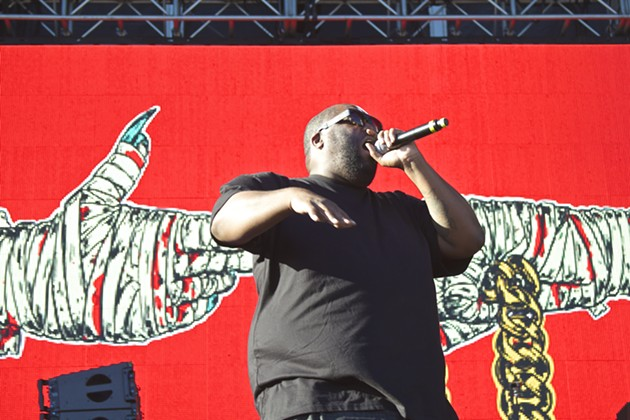 """Critics wanna mention that they miss when hip-hop was rappin'/ Motherfuckah, if you did, then Killer Mike'd be platinum."" — Kendrick Lamar - ADRIAN SPINELLI"