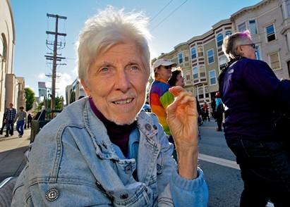 Cleland captures the essence of a community member. - JANE PHILOMEN CLELAND