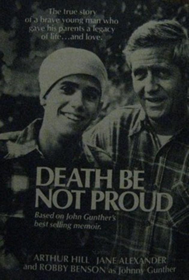 Robby Benson, left, as Johnny Jr, with Arthur Hill as John Sr. - ABC TV