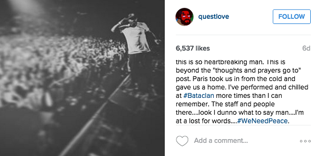 QUESTLOVE / INSTAGRAM