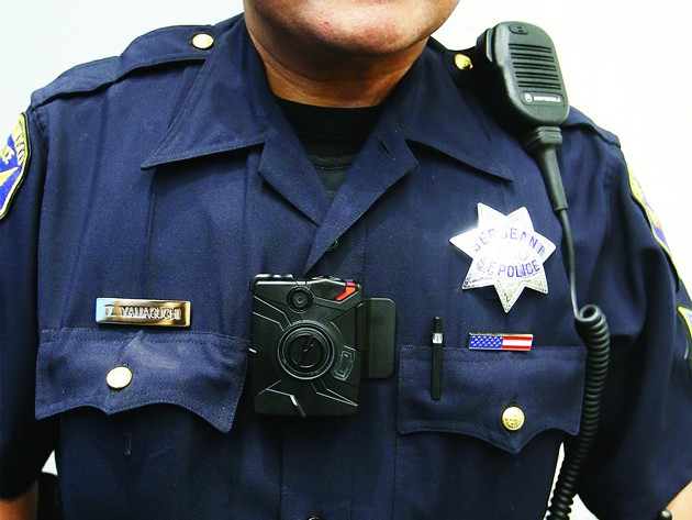 Body cameras yes, reviewing maybe? - MIKE KOOZMIN/SF EXAMINER