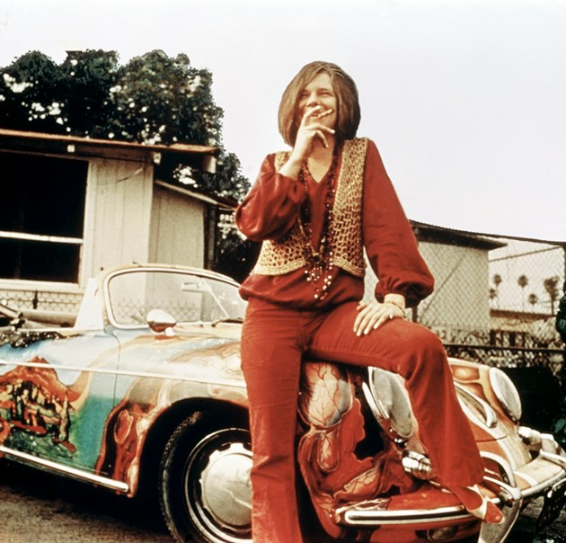 Joplin may have prayed for a Mercedes Benz, but she ended up with a psychedelic Porsche. - GETTY IMAGES;  RB/REDFERNS