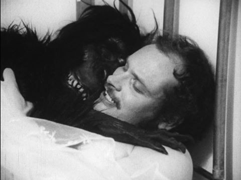 Man and ape. - SYNAPSE FILMS