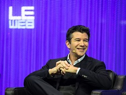 Happiness is a $62 billion valuation. Uber CEO Travis Kalanick. - WIKIMEDIA COMMONS