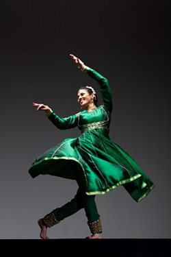 Dancer: Rina Mehta - PHOTO BY MARGO MORITZ