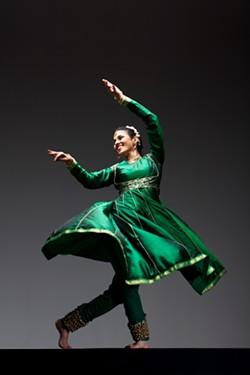 Dancer: Rina Mehta - PHOTO BY MARGO MORITZ
