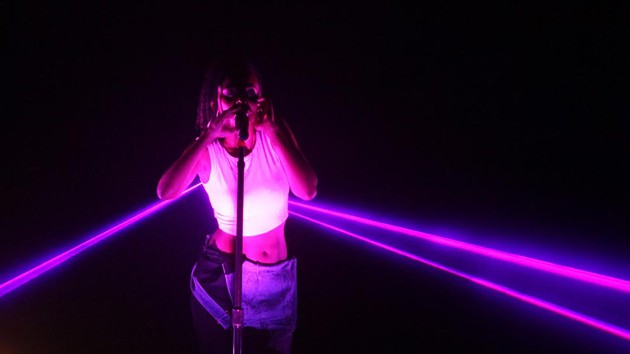 Kelela is so magical she shoots beams of lights out of her armpits. - CREDIT: CHRISTOPHER CASEY