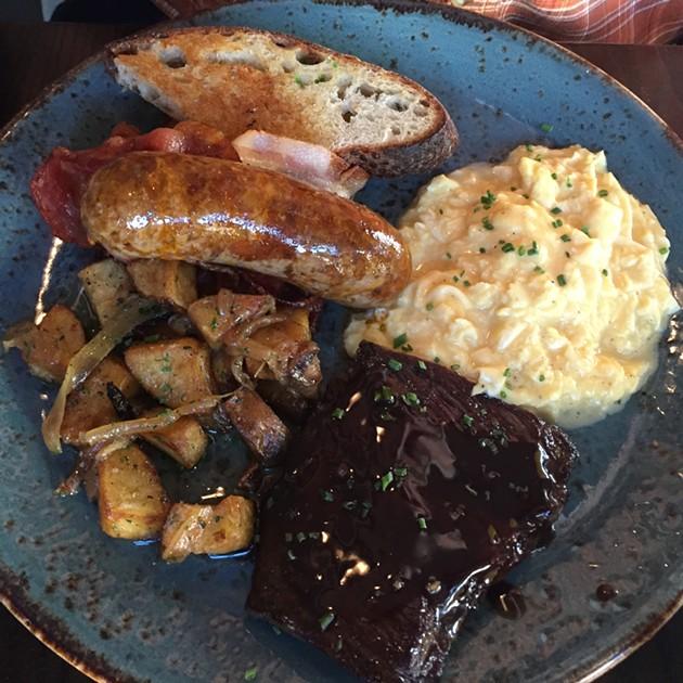 Hog & Rocks' H&R Breakfast - PETER LAWRENCE KANE
