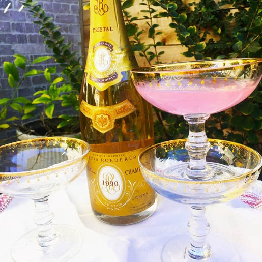Champagne Coupes - VINTAGEWEAVE