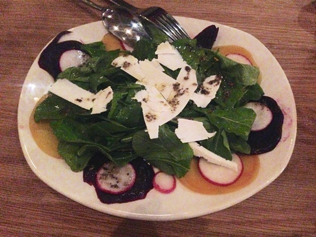 Beet and Shaved Ricotta Salad - A.K. CARROLL