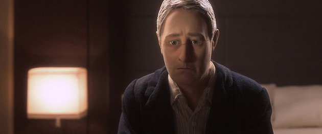 David Thewlis voices Michael Stone in the animated stop-motion film, Anomalisa. - © 2015 PARAMOUNT PICTURES. ALL RIGHTS RESERVED.