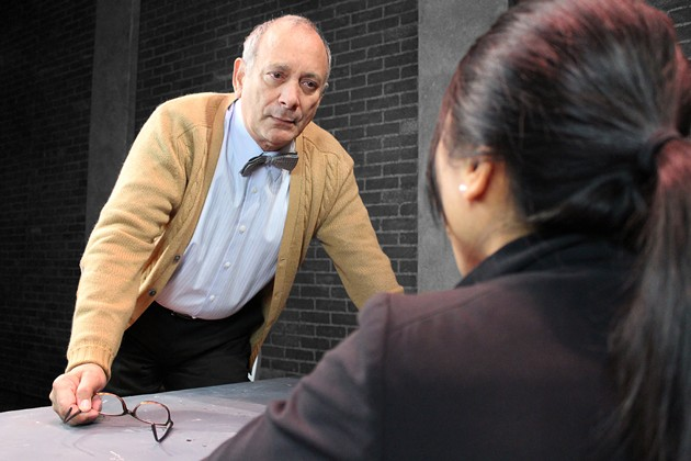 Louis Parnell co-stars in sci-fi crime drama The Nether, which opens Jan. 19 at San Francisco Playhouse. - JEFFREY ADAMS