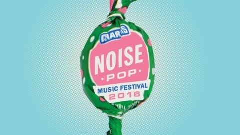 Mmmmm, Noise Pop-flavored lollipop.
