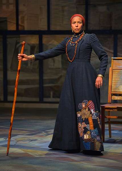 Margo Hall as Aunt Ester. - KEVIN BERNE