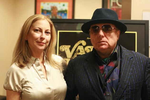 Van Morrison and daughter, Shana. - AMANDA LEVIN