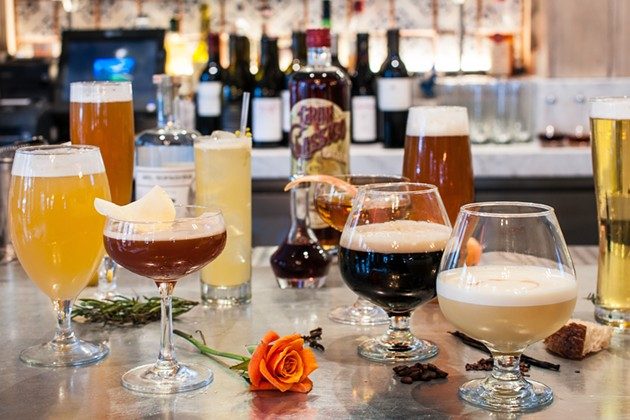 Belga's New Beer-Inspired Cocktails - DECLAN MCKERR