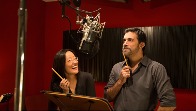 Jennifer Yuh and Alesandro Carloni codirect Kung Fu Panda 3, which opens wide Jan. 29. - NATHANIEL CHADWICK