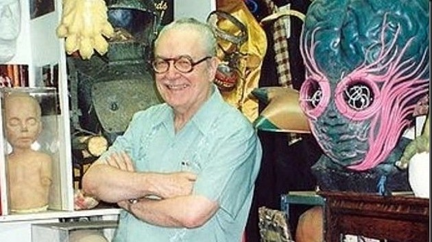 Forrest J. Ackerman and a few of his priceless toys. - CHANGE.ORG