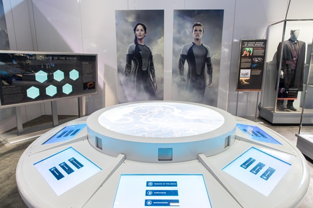 One of the many interactive components of the exhibition that puts fans in the story. - COURTESY OF LIONSGATE