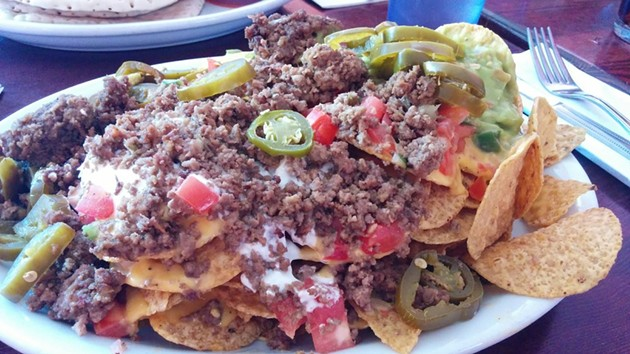 The deluxe nachos: a good reason to hit up Sparky's at 1:53 a.m. - YELP/TANYA F.