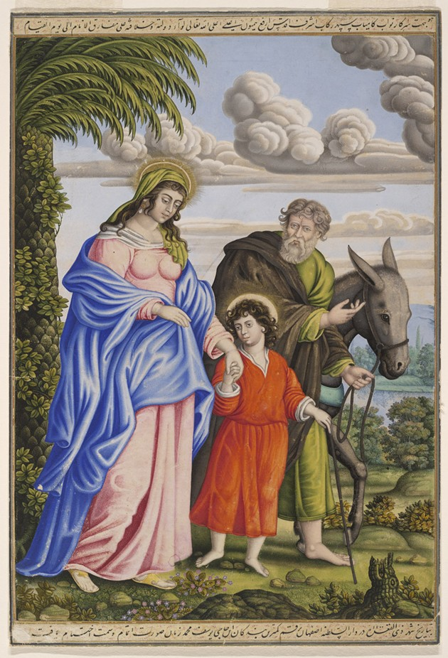 The Return from the Flight into Egypt by Muhammad Zaman - PRESIDENT AND FEL- LOWS OF HARVARD COLLEGE.