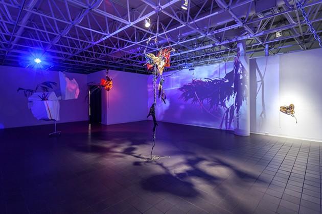 A past installation piece - TRA BOUSCAREN