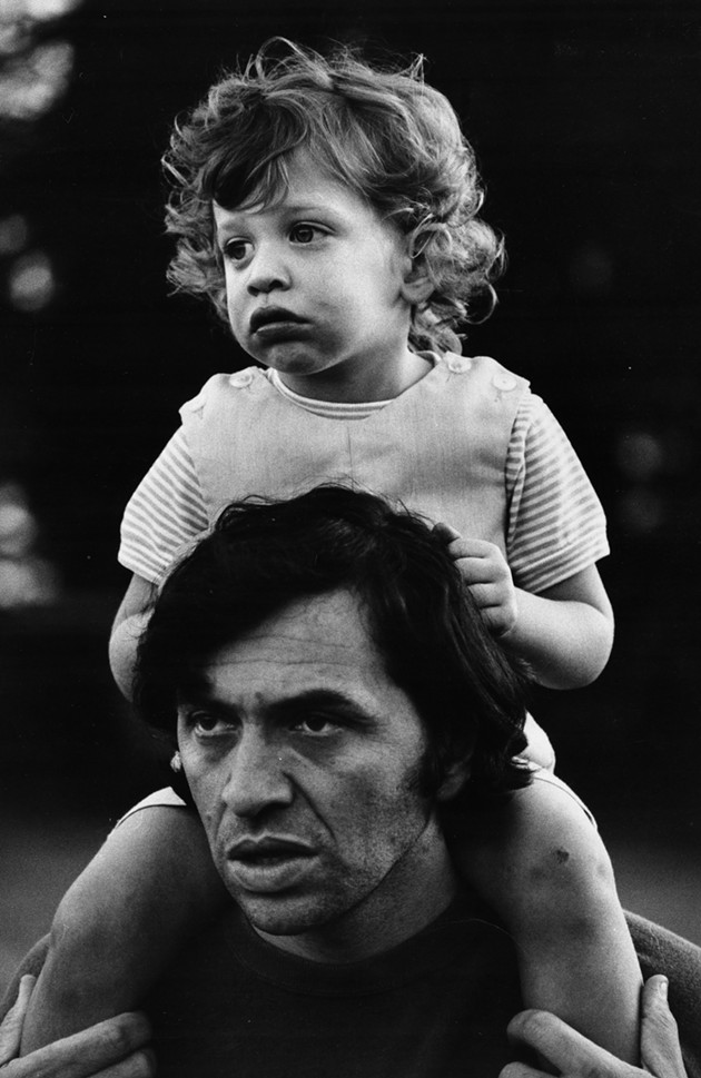 Bill Graham and his son David, 1969 - CJM