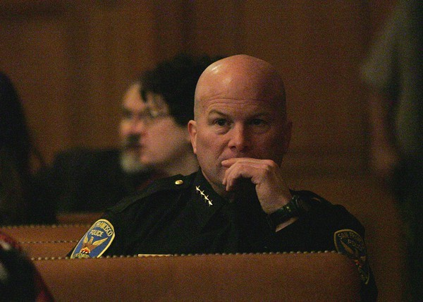 SFPD Chief Greg Suhr has even more racist cops to deal with. - SF EXAMINER/FILE PHOTO