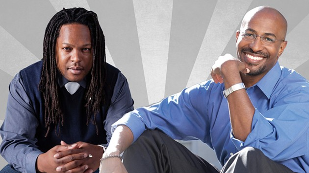 Shaka Senghor and Van Jones - COURTESY OF COMMONWEALTH CLUB
