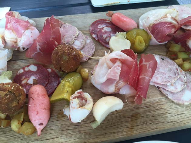 Charcuterie at Oro - PETER LAWRENCE KANE