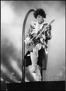 Prince at Cow Palace in 1985.