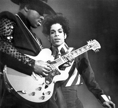 Prince at Bill Graham Civic Auditorium in 1993.