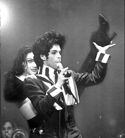 Prince at Bill Graham Civic Auditorium in 1993.