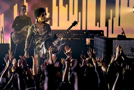 Prince at DNA Lounge in 2013.