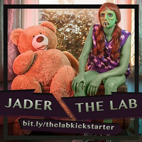 The hallucinogenic work of Jader, a San Francisco artist who is offering a studio transformation of a patron as one of The Lab's Kickstarter rewards. - JADER, JADERVISION.COM