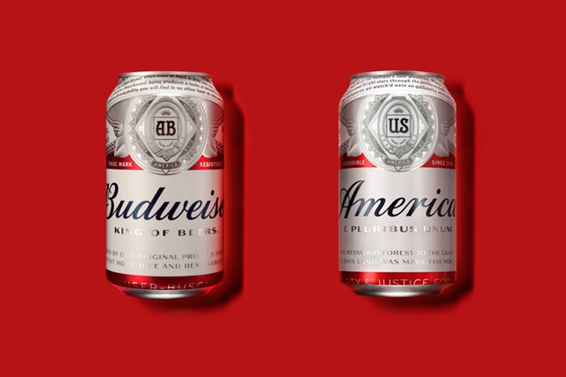 This is really happening. - PHOTO VIA ANHEUSER-BUSCH.