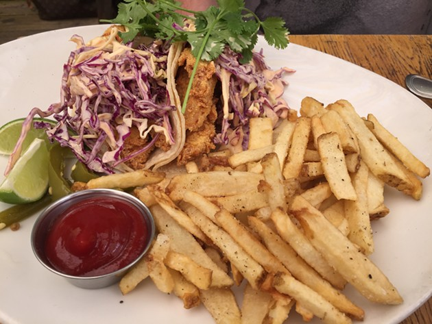 Fish tacos - PETER LAWRENCE KANE