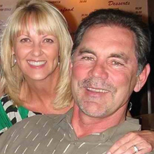 Kim and Bruce Bochy - COURTESY OF THE COMMONWEALTH CLUB