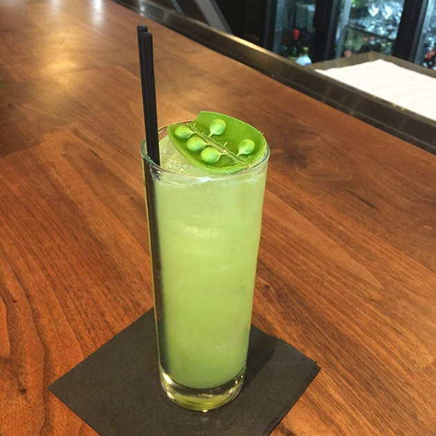 1760's Spring Pea and Sage (genepy, absinthe, Dimmi. pisco) - PETER LAWRENCE KANE