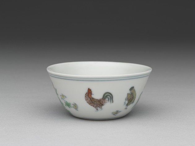 Emperors' Treasures Cup with chicken design