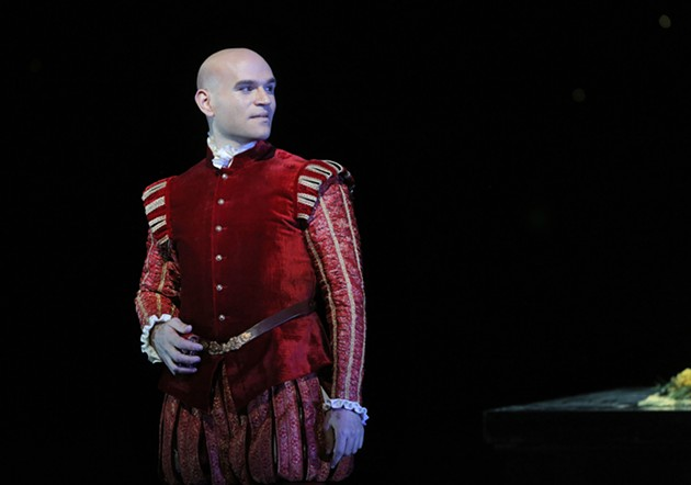 Michael Fabiano as Don Carlo - CORY WEAVER/SAN FRANCISCO OPERA