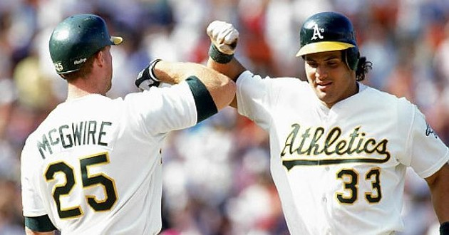 "The ""Bash Brothers"" Mark McGwire and Jose Canseco - JOSE CANSECO"